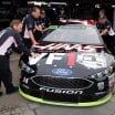 Clint Bowyer - NASCAR Garage area