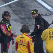 Cole Pearn and Todd Gordon at Martinsville Speedway