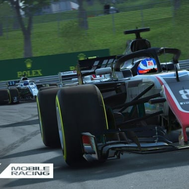 F1 Mobile Racing Game - Codemasters - Haas F1 Team