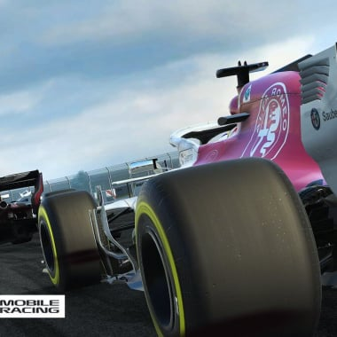 F1 Mobile Racing Game - Codemasters - Sauber F1 Team