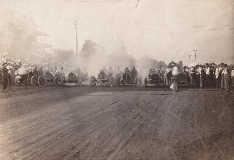 Fairgrounds Speedway Nashville (Dirt Track) 1911