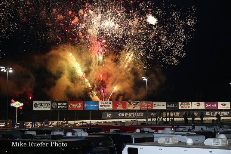 Fireworks at Eldora Speedway