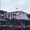 Jimmie Johnson, Martin Truex Jr - Pink bikes
