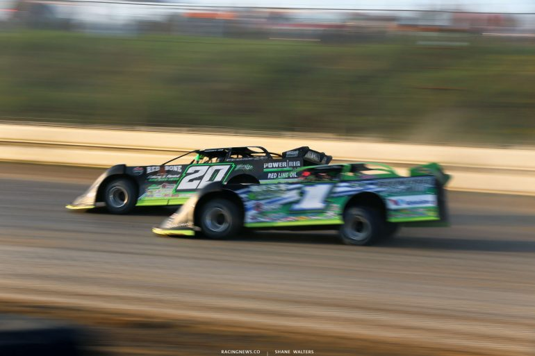 Jimmy Owens and Josh Richards in the Pittsburgher 100 1559