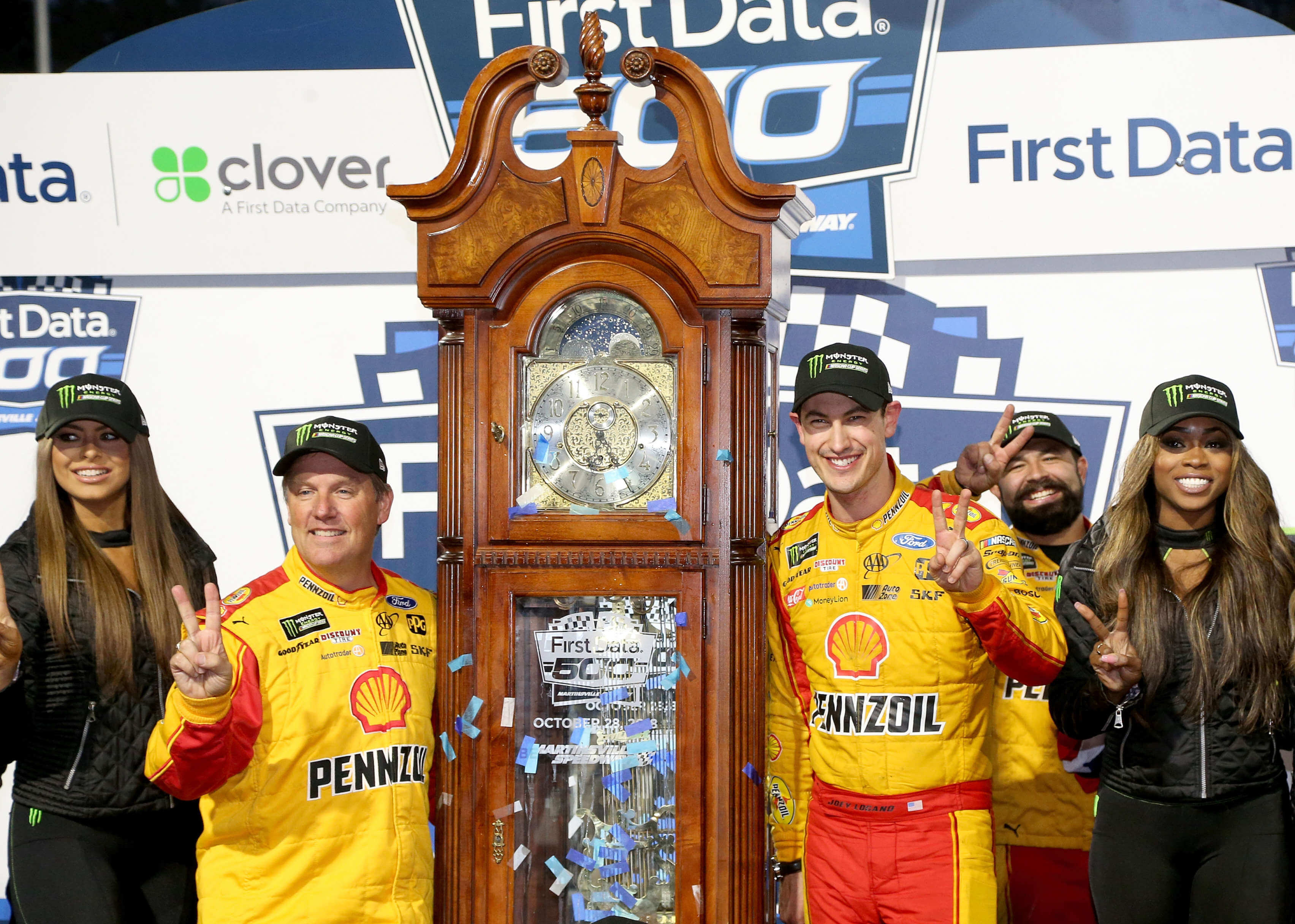 Joey Logano- Martinsville Clock