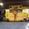 Joey Logano - Martinsville Speedway garage area
