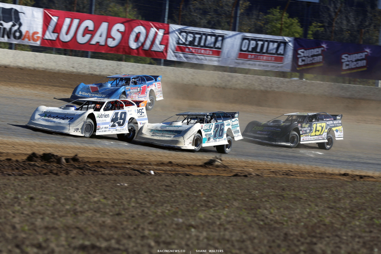 Jonathan Davenport, Brandon Overton, Brandon Sheppard and Mike Marlar in the DTWC 2454