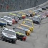 Kevin Harvick leads at Dover International Speedway - NASCAR