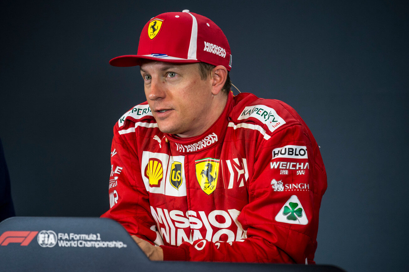 Kimi Raikkonen press conferance