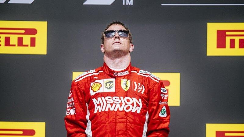 Kimi Raikkonen shades