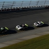 Kurt Busch, Clint Bowyer, Kevin Harvick and Aric Almirola at Talladega Superspeedway - Stewart-Haas Racing