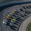 Kurt Busch and Brad Keselowski lead the field at Talladega Superspeedway
