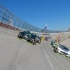 Kurt Busch and Clint Bowyer at Talladega Superspeedway