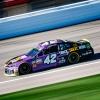 Kyle Larson at Kansas Speedway