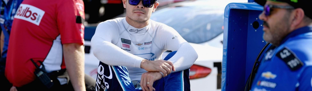 "Kyle Larson says, ""I'm not a racist"""