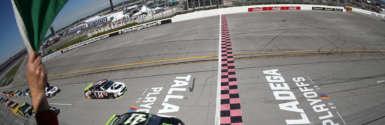 NASCAR EVP explains the lack of a yellow flag during a crash on final lap at Talladega