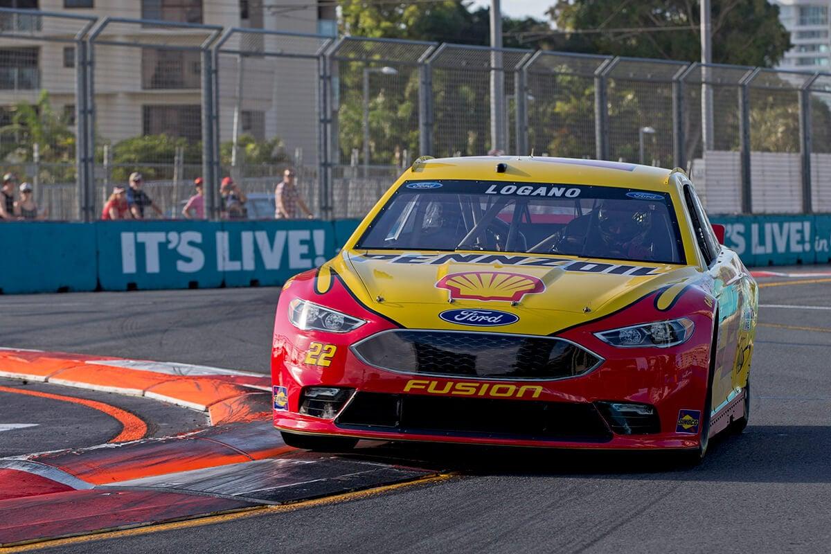 NASCAR test run at Surfers Paradise Street Circuit - Superscars