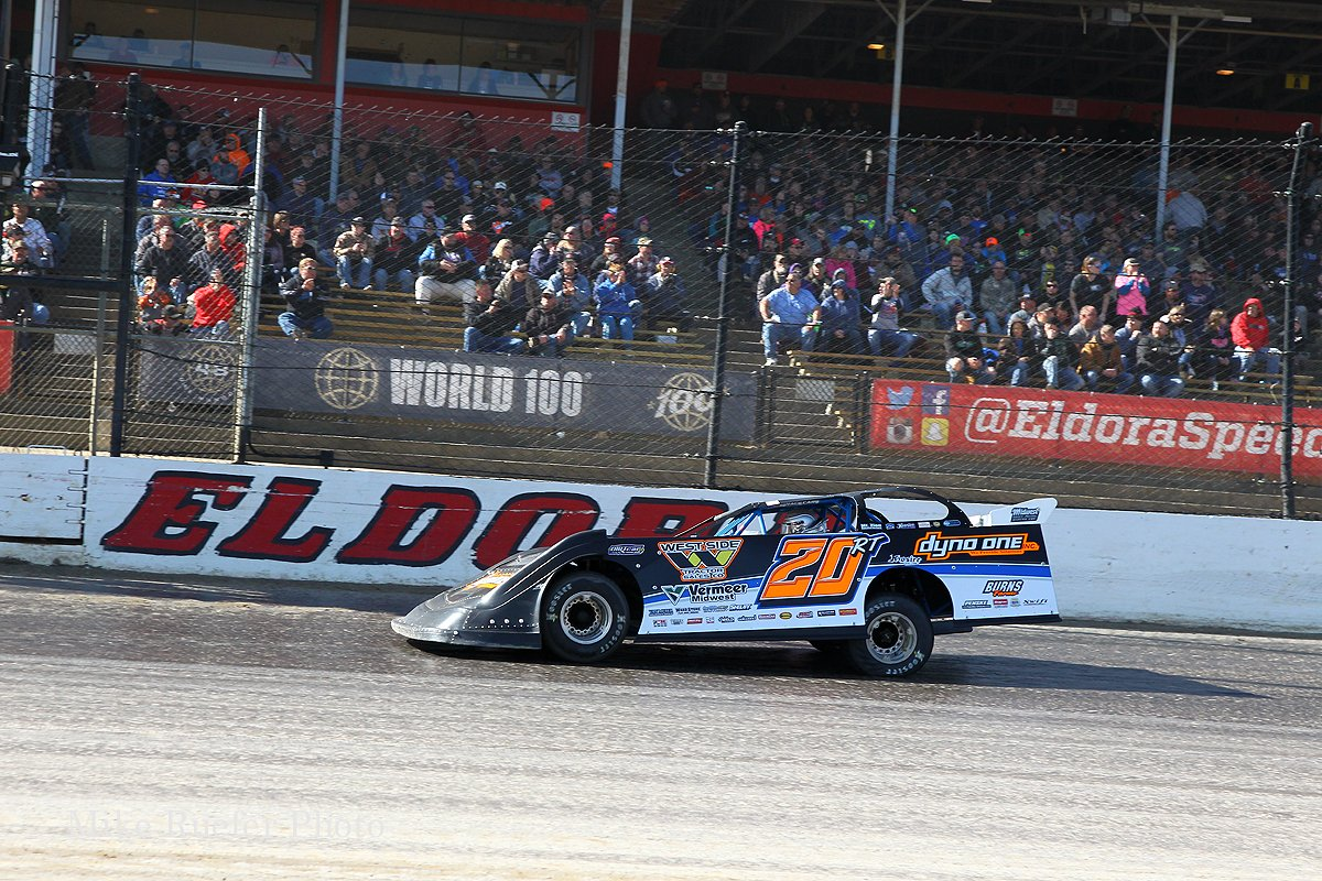 Ricky THornton Jr wins at Eldora Speedway
