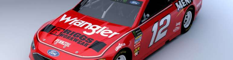 Wrangler signs with Team Penske as primary sponsor of Ryan Blaney