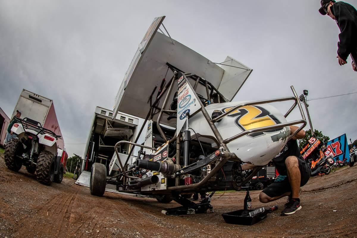 Shane Stewart - Kyle Larson Racing Team
