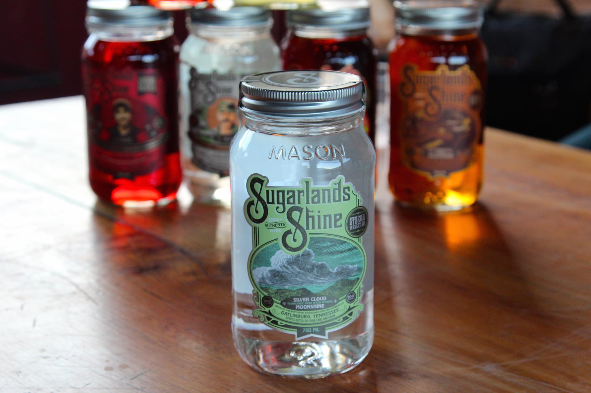 Sugarlands Shine - Official Moonshine of NASCAR