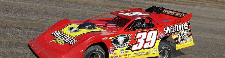 Tim McCreadie ran a polish victory lap with his little trailer after winning the World 100 at Eldora Speedway (Video)