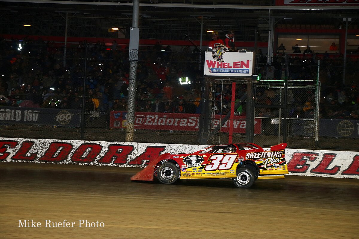 Tim McCreadie wins the 2018 World 100 at Eldora Speedway