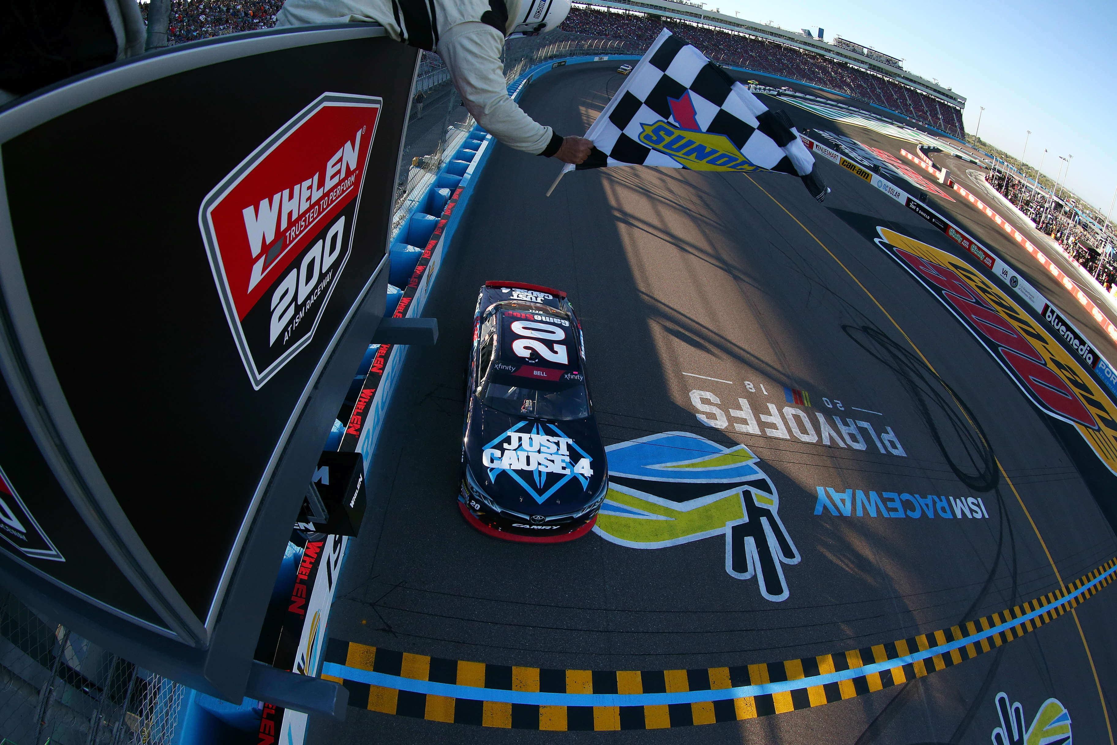 Christopher Bell wins at ISM Raceway