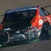 Clint Bowyer - Tire blowout causes a crash at ISM Raceway
