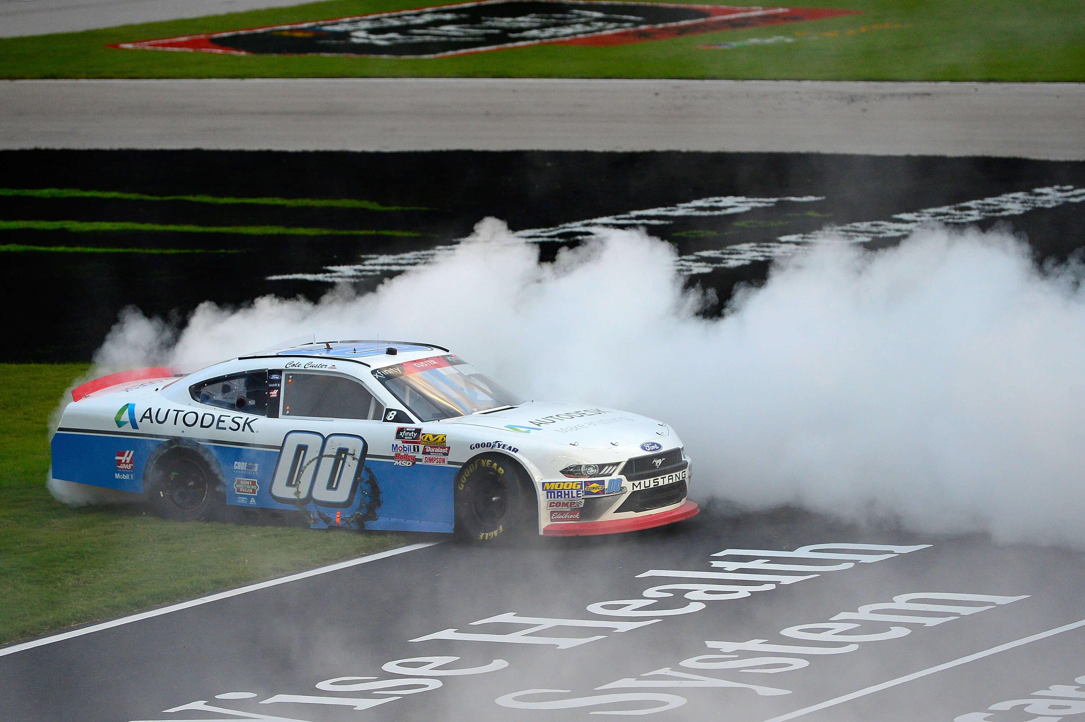 Cole Custer - NASCAR Burnout