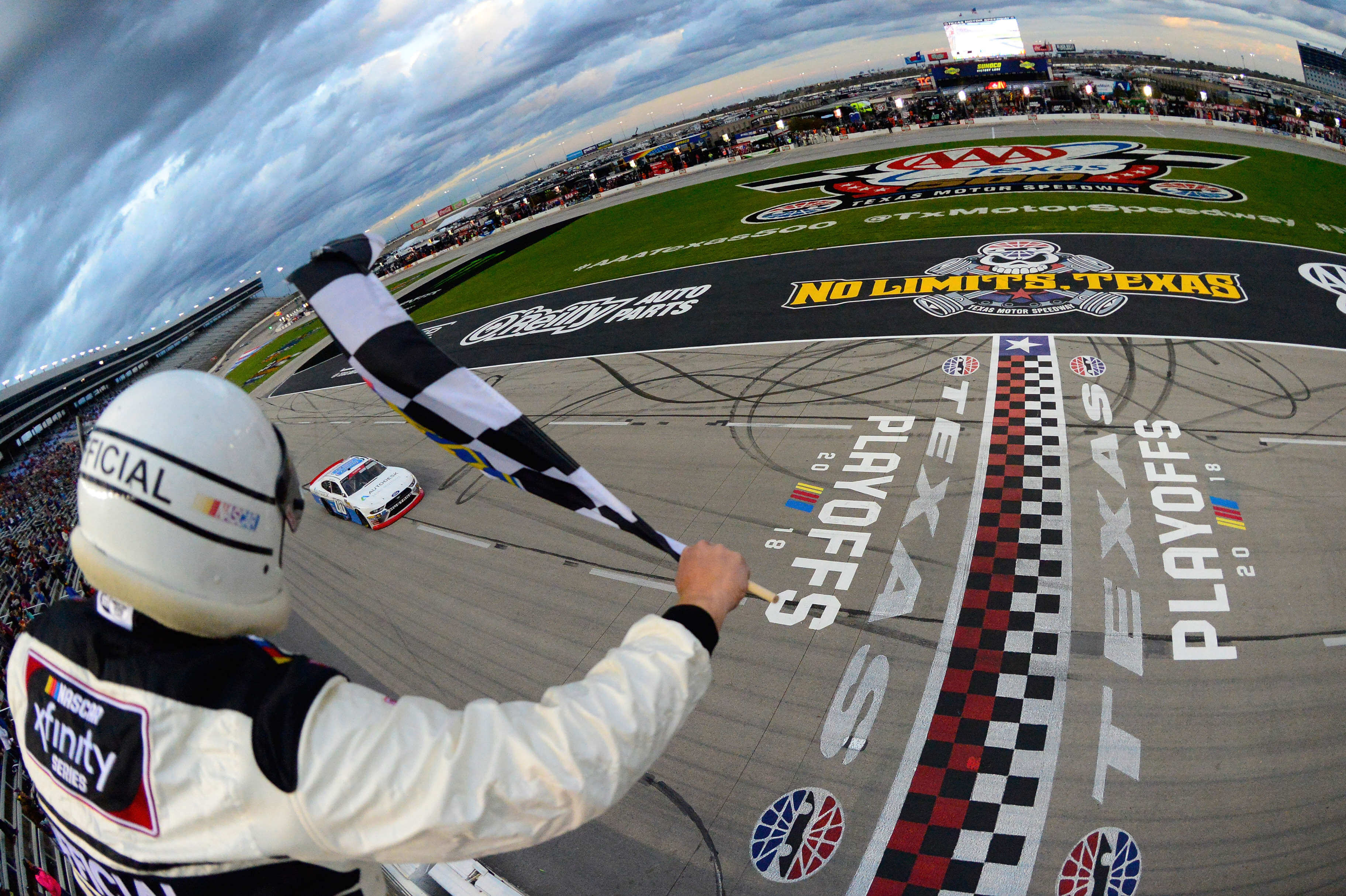 Cole Custer wins at Texas Motor Speedway