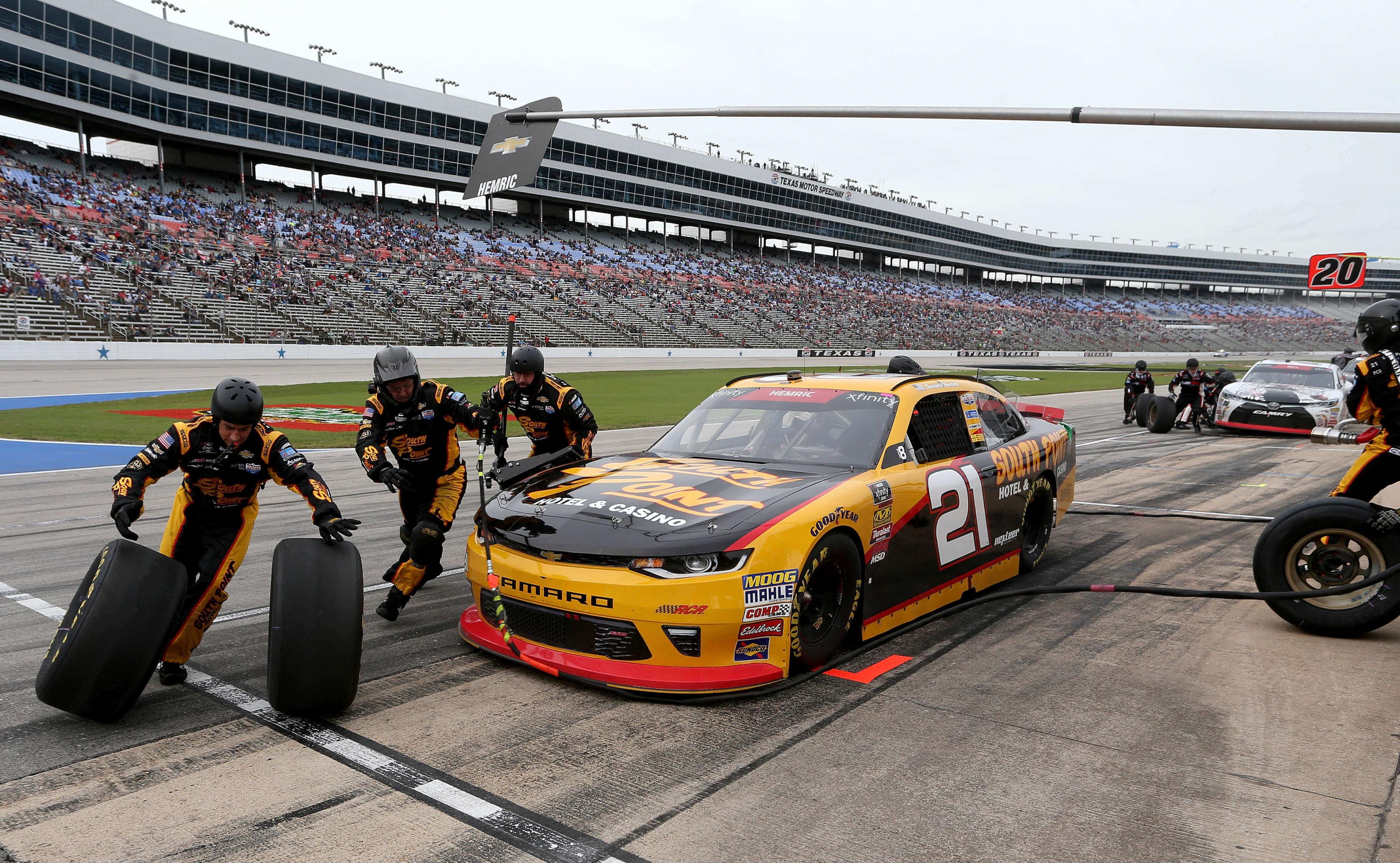 Daniel Hemric - NASCAR Pit Stop