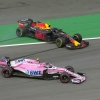 Esteban Ocon and Max Vestappen crash in Brazil