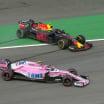Esteban Ocon and Max Vestappen crash in Brazil