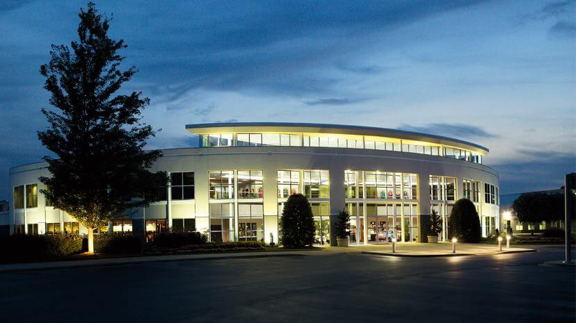Joe Gibbs Racing shop in North Carolina - NASCAR garage