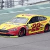 Joey Logano at Homestead-Miami Speedway