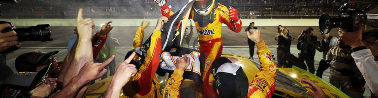 Joey Logano is the 2018 NASCAR champion; Driver talks the championship run