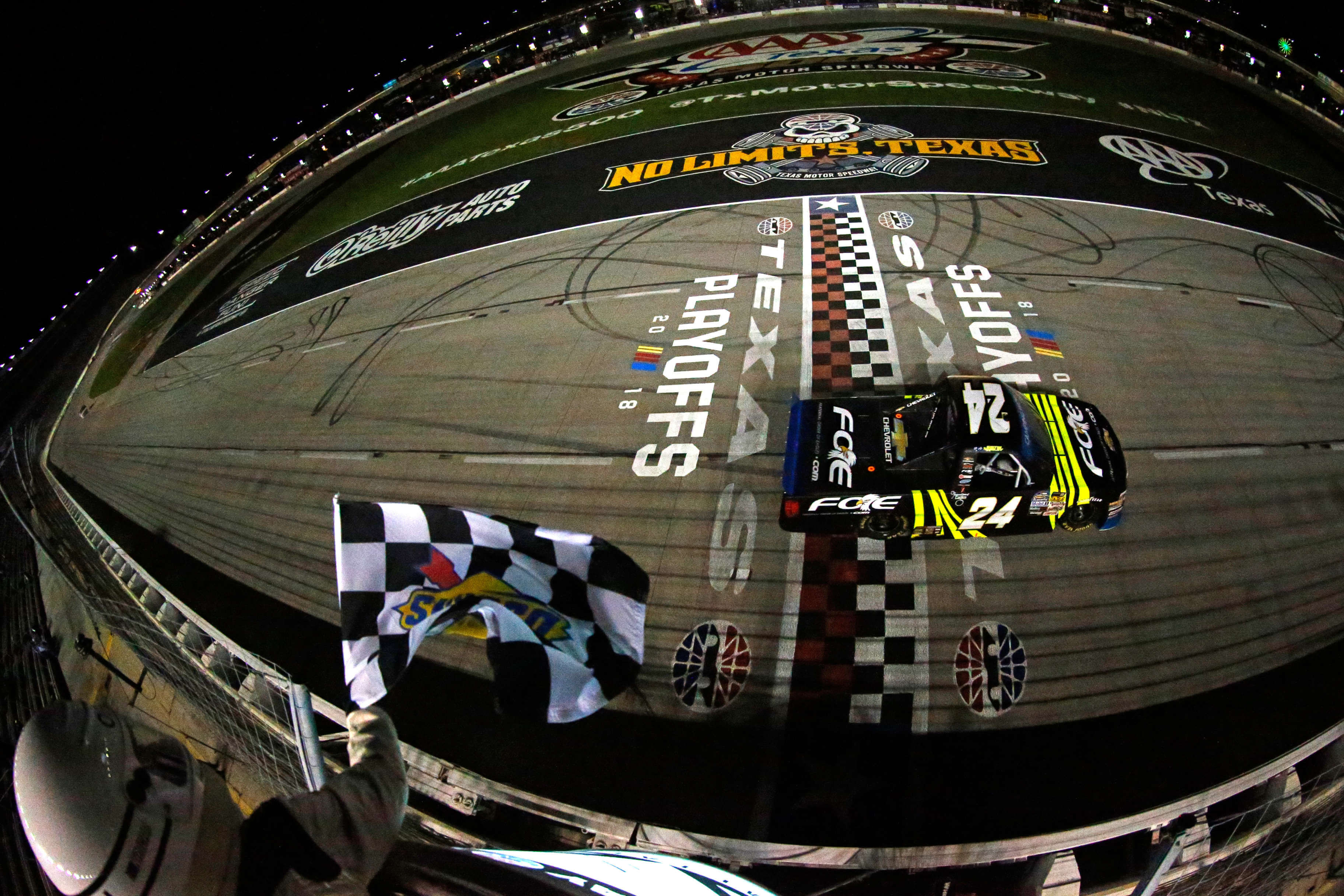 Justin Haley wins at Texas Motor Speedway - NASCAR Truck Series
