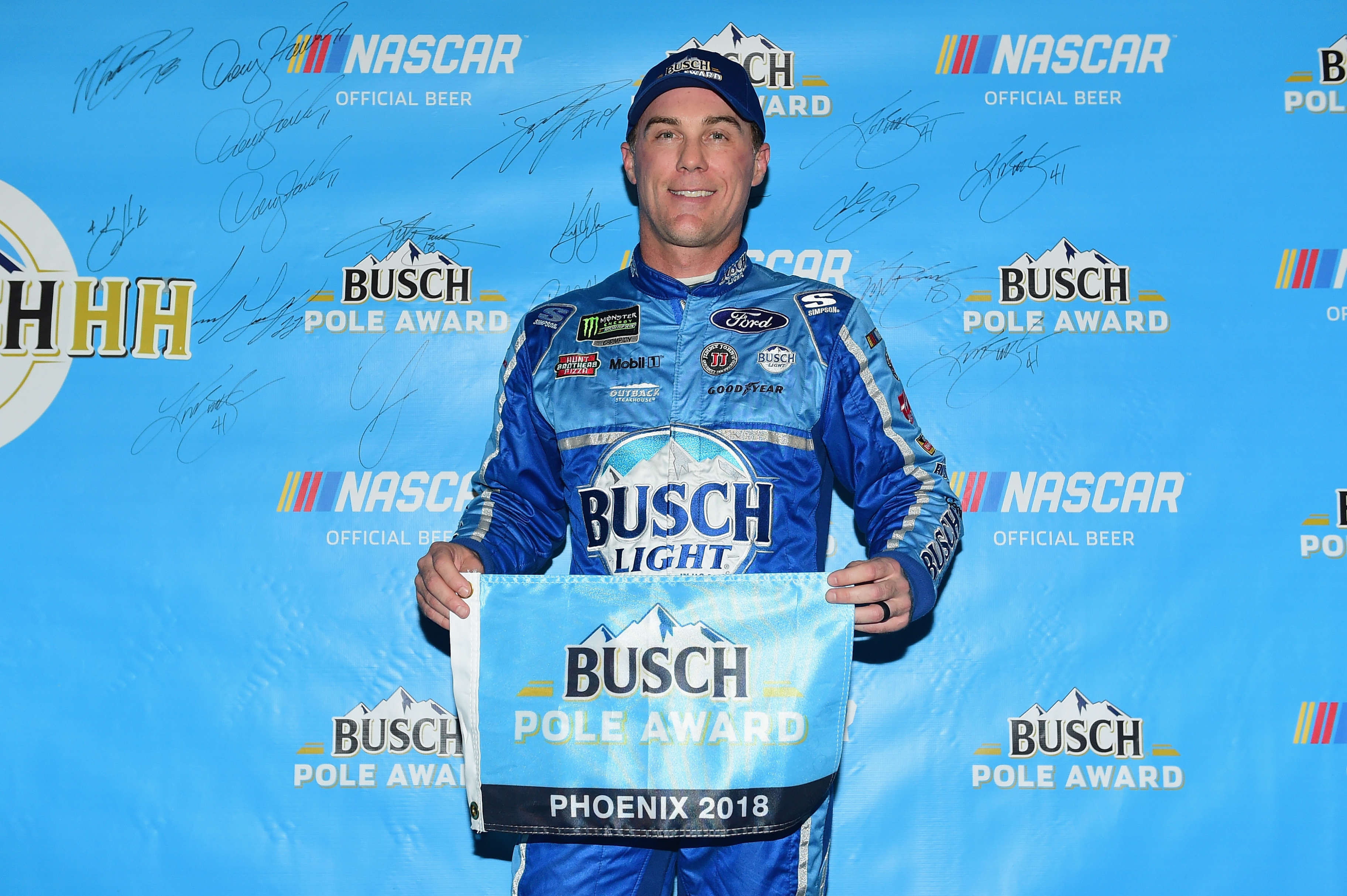 Kevin Harvick - Busch pole at ISM Raceway