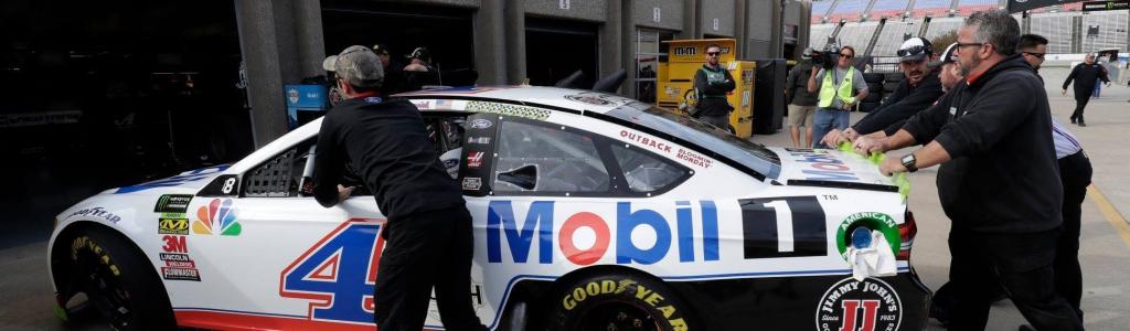 NASCAR details Kevin Harvick's spoiler infraction