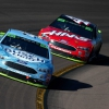 Kevin Harvick and Kurt Busch at ISM Raceway - NASCAR Cup Series