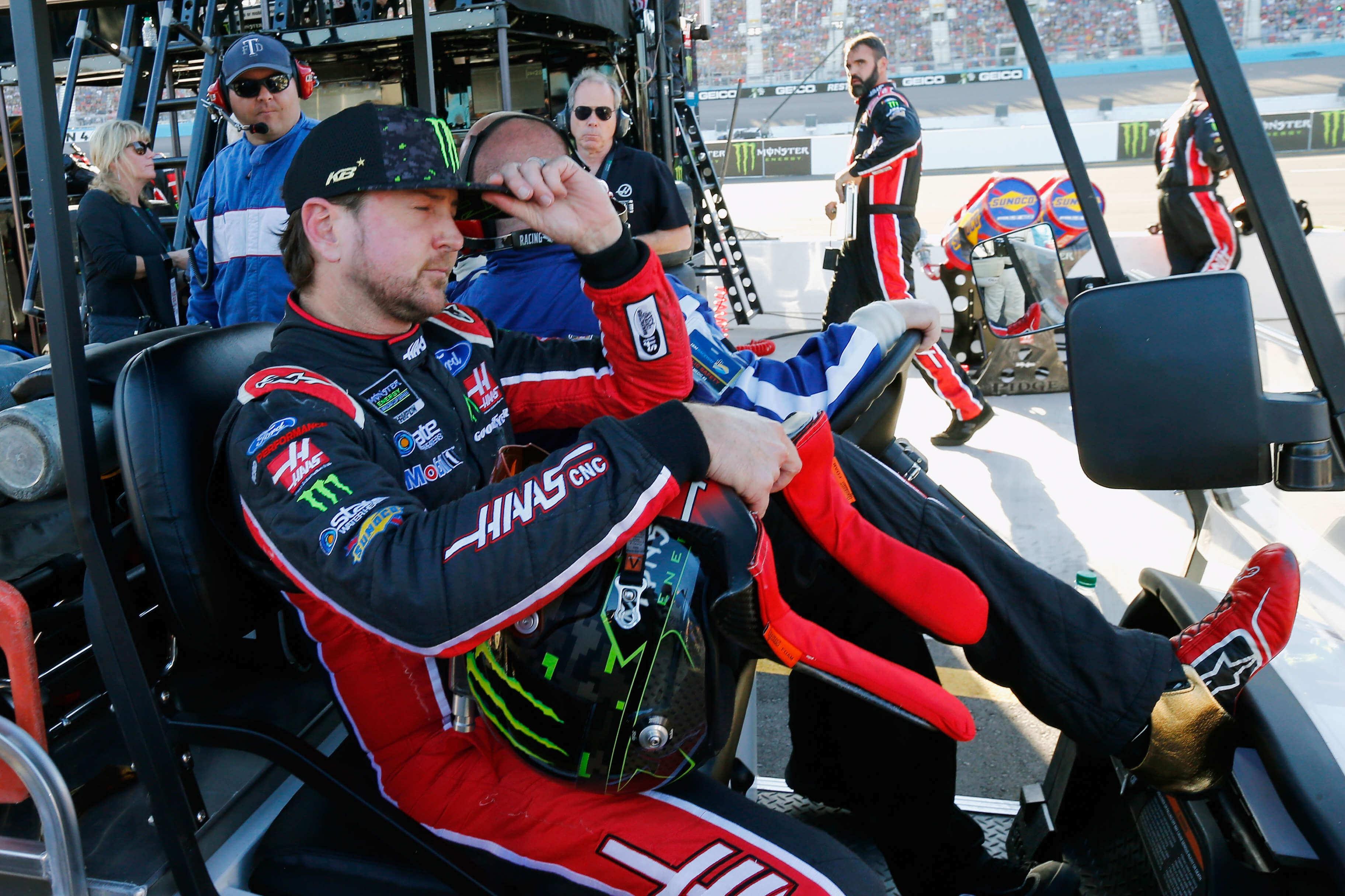 Kurt Busch after ISM Raceway - NASCAR