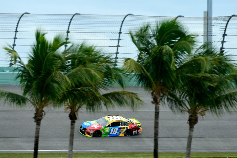 Kyle Busch at Homestead-Miami Speedway - NASCAR
