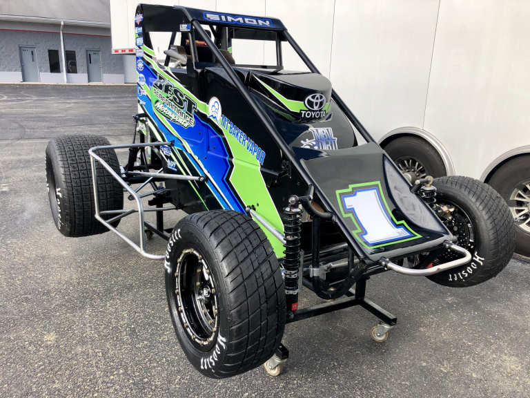 Landon Simon - Best Performance Motorsports midget photo