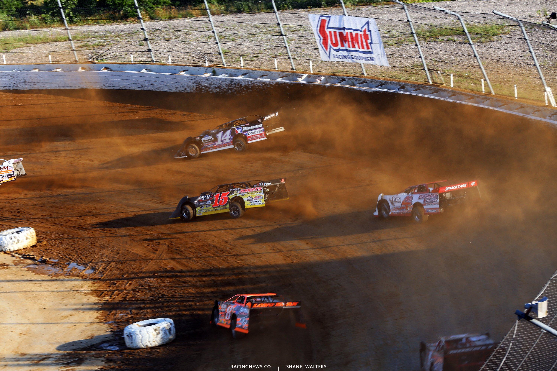 Lucas Oil Late Model Dirt Series at Mansfield Motor Speedway 4455