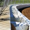 Mansfield Motor Speedway safer barriers 3888