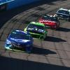 Martin Truex Jr, Austin Dillon, Kurt Busch and Aric Almirola at ISM Raceway - NASCAR Cup Series