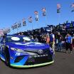 Martin Truex Jr - NASCAR inspection at ISM Raceway