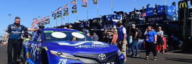 Martin Truex Jr's car chief ejected from ISM Raceway