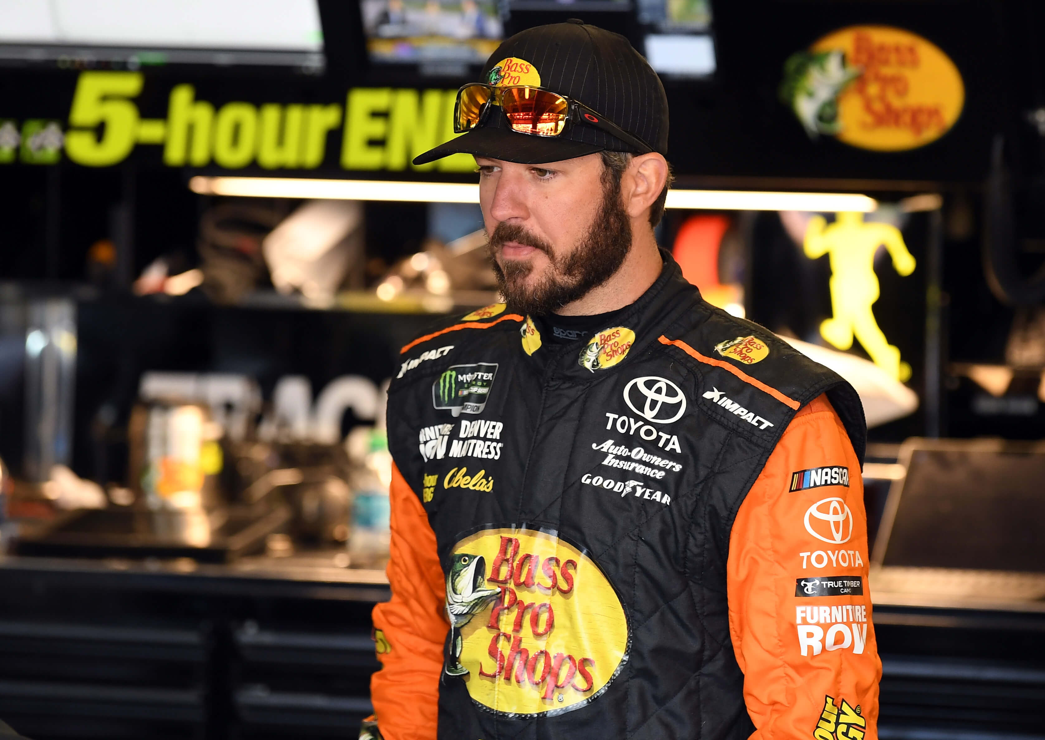 Martin Truex Jr at Texas Motor Speedway